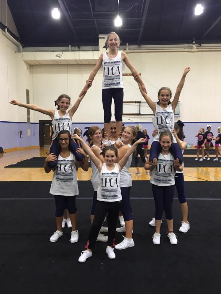 LPCA Cheerleaders Attend UCA Summer Camp