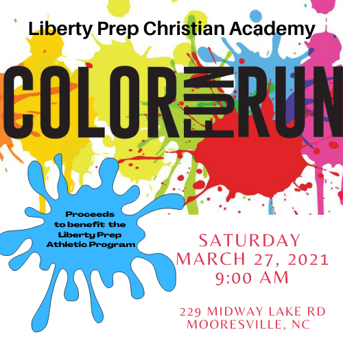 Color Fun Run At Capacity; Pledges Still Accepted!