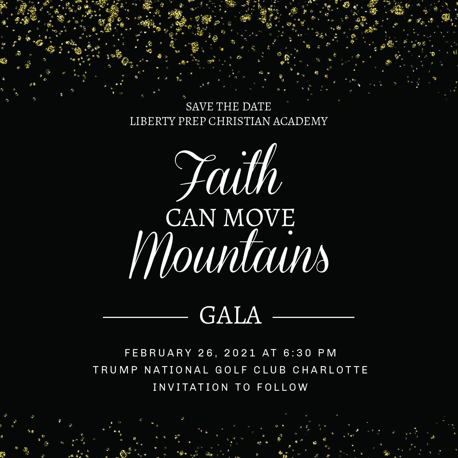 2021 Faith Can Move Mountains Gala