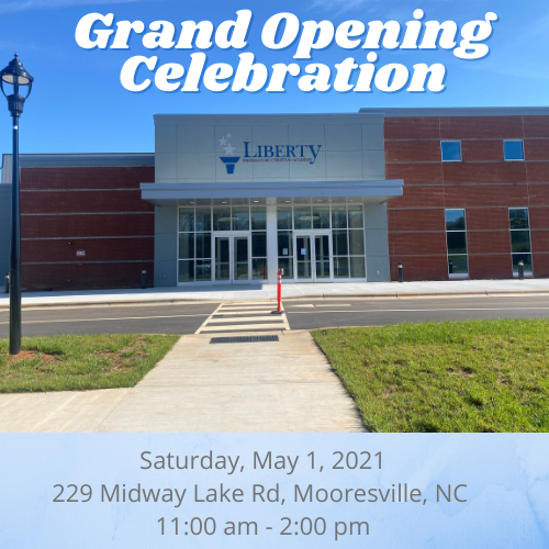 Grand Opening Celebration: May 1st