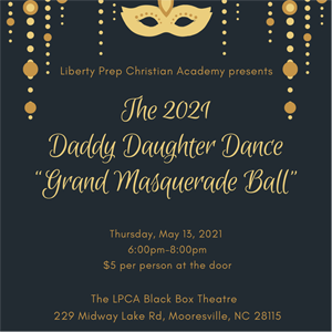 K-5 Daddy/Daughter Dance: May 13th